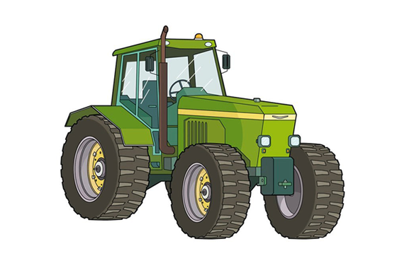 Agricultura: Tractor