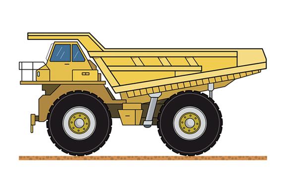 Construcción: camión
