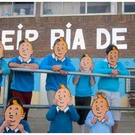 Lendo o mundo con Tintin