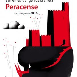 Cartel Fiestas Peracense 2014