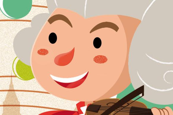 Mozart, libro ilustrado