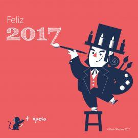 Felices fiestas y lindo 2017