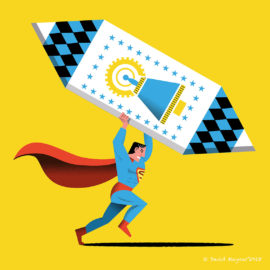 Exposición homenaje Superman