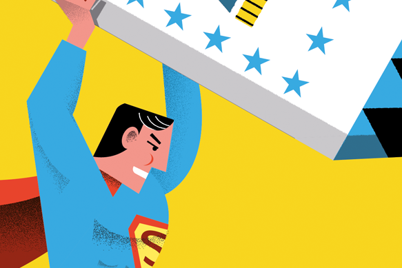 Homenaje a Superman