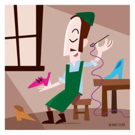 El zapatero de las princesas