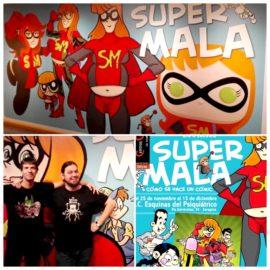 Supermala: cómo se hace un cómic