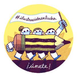 #ilustraciónenlucha